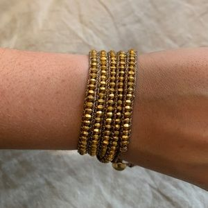 NEW Chan Luu Gold Wrap Bracelet